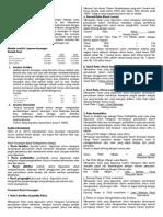 Laporan Dan Analisis Keuangan