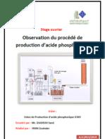 Production Acide Phosphorique