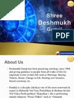 Shree Deshmukh Guruji in Pune