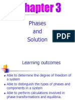 Chapter 3 - Phases and Solution