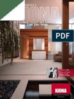 Kiona catálogo 2011