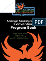 ACI F13 Convention Program Book