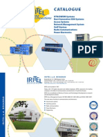 IRITEL CATALOGUE OTN DWDM SDH SONET WDM PDH POWER EL MUX CONVERTER IP TDM ETHERNET EN