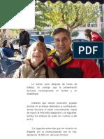 La segunda entrevista que me hicieron en España, por la incomunicación con mi hijo, desde los 14.000 Km. del exilio forzoso...