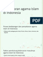 Penyebaran Agama Islam Di Indonesia