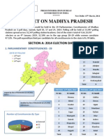 Fact Sheet on Madhya Pradesh Lok Sabha-2014 Seats