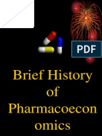 00 Brief History of Pharmacoeconomics