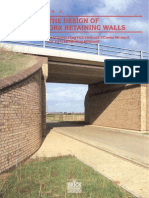 The BDA Design of Brickwork Retaining Walls