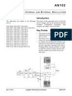 Configuring the Oscillator
