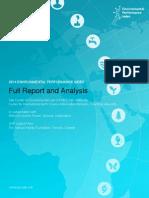 Environmenatl Perfomance Index 2014
