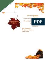 Literary Lunes Magazine - November 2011 Issue
