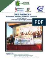 Report-All Pakistan National Bank Wheelchair Cricket 2014 Report