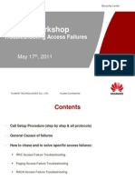 Access Failures Troubleshooting Workshop