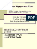 Laws of Chess Presentation