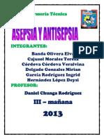 Asepsia y Antisepsia Expo Vera