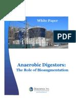 Anaerobic Digestors - The role of Bioaugmentation