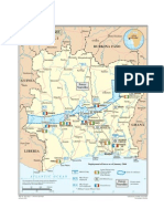 Map - Cote D'Ivoire