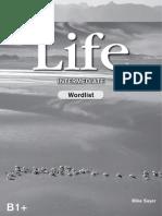 Life Intermediate Wordlist