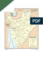 Map - Burundi