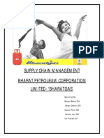 BPCL Supply Chain Mgt Project