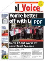 Labour South East European Election paper