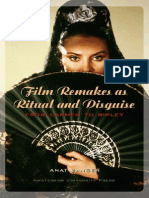 Anat Zanger - Film Remakes as Ritual and Disguise ~ From Carmen to Ripley