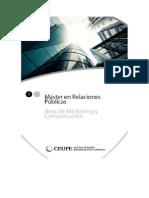 Master Online en Marketing - RRPP - Investigacion de Mercados