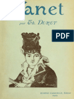 Histoire de Édouard Manet et de son oeuvre by Théodore Duret