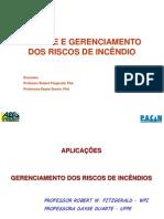 ANÁLISE E GERENCIAMENTO DOS RISCOS DE INCÊNDIO