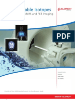 ISOTEC® Stable Isotopes Products for MRI, MRS and PET Imaging