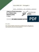 Resolução da Prova UFMG 2011 - Port