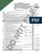 2012 Lazarus House Tax Filing 990