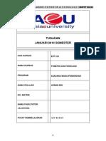 Azman Hj Amin - Tugasan Fonetik