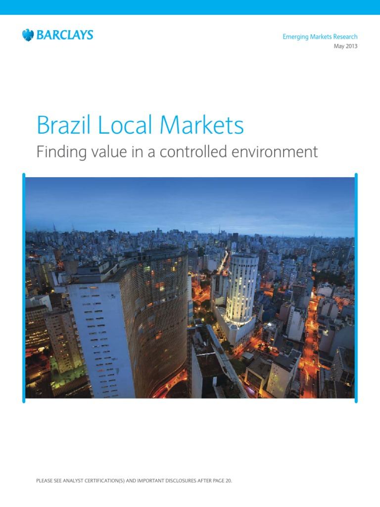 Barclays Brazil a Guide to Local Markets - Finding Value in