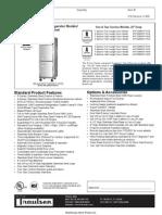 Traulsen 26 Inch Deep Refrigerator