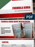 Formula Kimia tingkatan 4