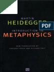 Heidegger, Martin - Introduction to Metaphysics (Yale, 2000)