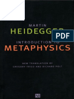 Heidegger, Martin - Introduction to Metaphysics (Yale, 2000)