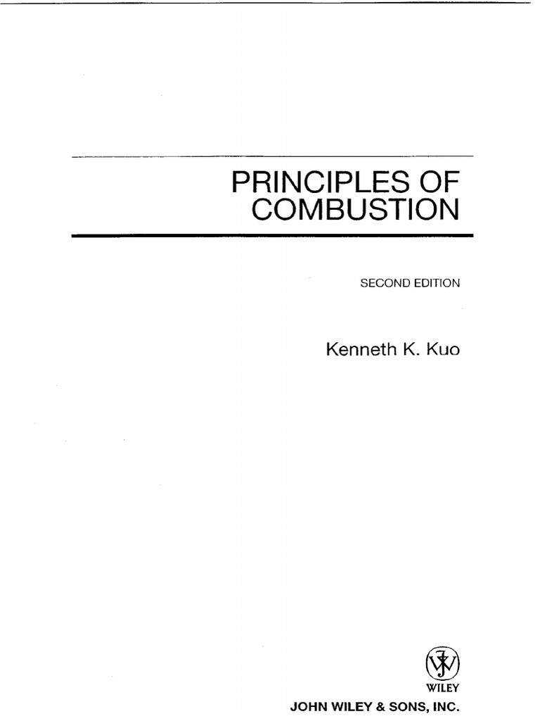 principles of combustion kuo rh scribd com