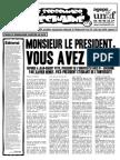 Le Sorbonnard Déchaîné n°5 (avril/mai 2006)