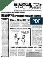 Le Sorbonnard Déchaîné n°7 (juin/juill 2006)