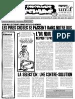 Le Sorbonnard Déchaîné n°9 (dec/jan 2006-2007)