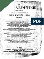 Le Bon Jardinier - Almanach Horticole 1894 - Partie 1