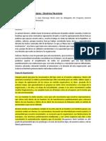 Declaración de principios- Perón