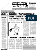 Le Sorbonnard Déchaîné n°11 (mars/avril 2007)