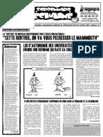 Le Sorbonnard Déchaîné n°13 (oct 2007)