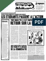 Le Sorbonnard Déchaîné n°14 (nov 2007)