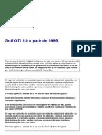 Teste Sensores Golf GTI 2.0