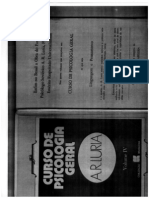 Curso de Psicologia Geral - A. R. Luria