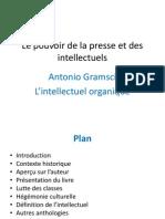 Gramsci Et Le Pouvoir Des Intellectuelles